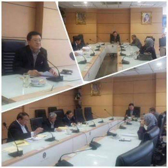 ผมเป็นประธานในการประชุมกรรมการพิจารณาตำแหน่งทางวิชาการ มหาวิทยาลัยราชภัฏสวนสุนันทา #meeting #ssru #drdancando