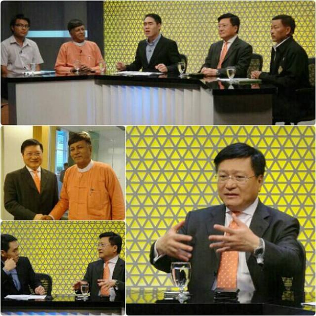 รายการต่างคนต่างคิด สถานีโทรทัศน์ดิจิตอล อัมรินทร์ ทีวี เชิญผมร่วมบันทึกเทปสนทนาเรื่อง